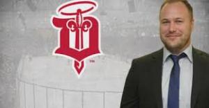 Kalle Larsson, Dubuque Fighting Saints, USHL till CHS!