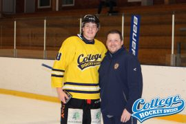 SAIK's Ludwig Stenlund and Coach Dibble